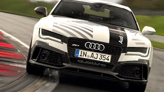 Download AUDI RS7 NO DRIVER 149mph! Audi Self Driving Car High Speed Full Lap Race Track CARJAM TV 4K 2015 Video