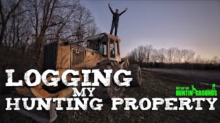 Download Logging My Hunting Property & Bullets Fly at Me Vlog #6 Video