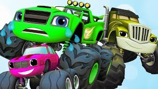 Download Blaze Color Change 😮 Blaze Monster Machines toys learn colors in English with color changing toys Video