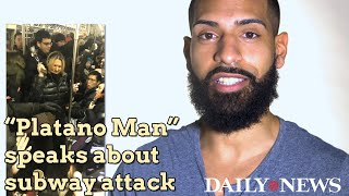 Download 'Platano Man' describes encounter with racist woman on subway Video