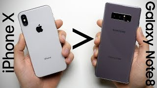Download 25 Reasons Why iPhone X Is Better Than Galaxy Note 8 Video