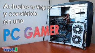 Download Convierte tu vieja computadora en una PC Gamer Video