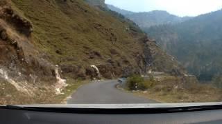 Download drive from chaukori to munsiyari with panchachuli peaks at dawn Video
