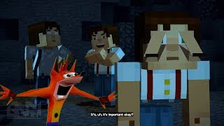Download Minecraft Story Mode Season 2 - Try Not To Laugh Version (Glitched Out) 2017 Video