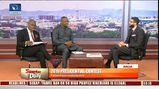 Download 2019: Buhari, Atiku Campaign Spokespersons In Direct Criticism Of Flagbearers Pt.1 |Sunrise Daily| Video