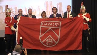 Download Spruce Meadows unveils Cavalry FC Soccer Video