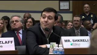 Download Martin Shkreli Invokes Fifth Amendment During Congressional Hearing Video