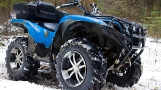 Download Yamaha Grizzly 700, тест драйв и вся правда о квадроцикле от владельца Video