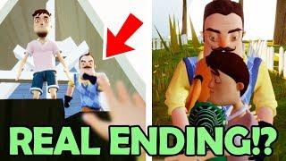 Download SAVING the Neighbors KID! The REAL Ending of Hide & Seek!? (Hello Neighbor Hide and Seek NEW Ending) Video