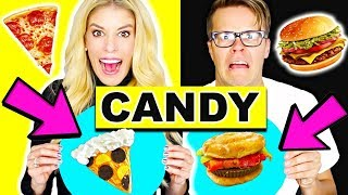 Download Making Food out of CANDY! Gummy Vs Real Video