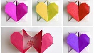 Download Renkli kağıttan kalpli kutu yapımı Video