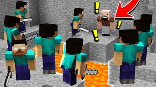 Download 10 HEROBRINES vs 1 NOTCH! (Minecraft Murder Mystery Trolling) Video