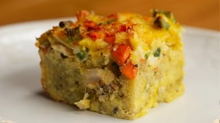 Download Leftover Thanksgiving Breakfast Casserole Video