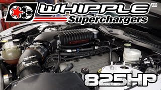 Download 825 HP 2.9L Stage 2 Whipple Install on a S550 2016 Mustang GT Video