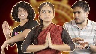 Download People Try Bharatanatyam For The First Time Video