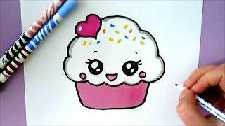 Download HOW TO DRAW A CUTE CUPCAKE Video