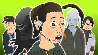 Download ♪ ALIEN ISOLATION THE MUSICAL - Animated Music Video Parody Video