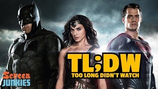 Download TL;DW - Every DCEU Movie Before Justice League Video