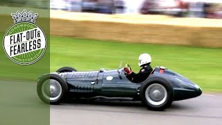 Download Screaming BRM V16 at Festival of Speed 2014 Video