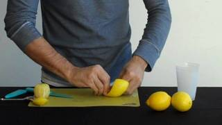 Download Garnish Lemon Twists Video
