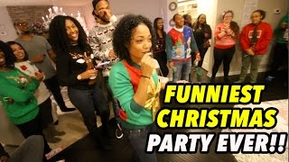 Download FUNNIEST CHRISTMAS PARTY EVER!! Video