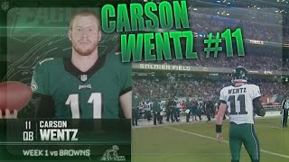 Download Carson Wentz Rookie Highlights (Weeks 1-3) Video