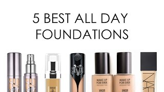 Download THE FIVE BEST ULTRA LONG WEAR FOUNDATIONS Video
