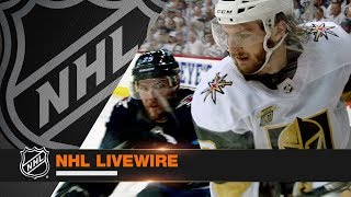 Download NHL LiveWire: Jets, Golden Knights mic'd up for Game 2 duel Video