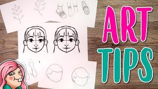 Download 10 ART TIPS for BEGINNERS Video