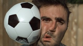 Download Football to the Face 1000x Slower - The Slow Mo Guys Video