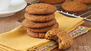 Download Soft and Chewy Ginger Cookies (gluten & grain free) Video