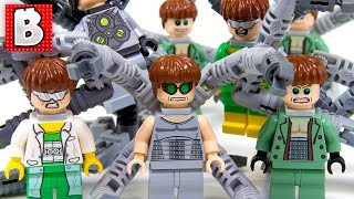 Download Every Lego Doctor Octopus Minifigure Ever Made!!! + Rare Gray Suit Doc Ock | Collection Review Video