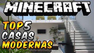 Download Minecraft Top 5 - ″Casas Modernas″ - Episodio 11 Video
