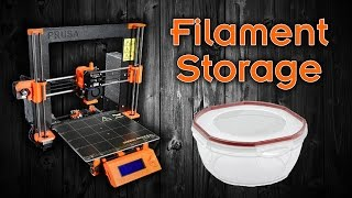 Download Perfect Air-Tight Containers to Store 3d Print Filament Video