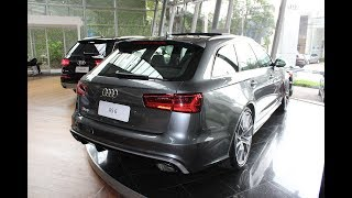 Download AUDI RS6 Avant Performance! Preço,Ficha Técnica,Consumo,Cores,Interior e Exterior Video