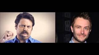 Download Chris Hardwick loses it at Nick Offerman joke on the Nerdist Podcast Video