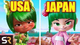 Download 18 Animated Characters Changed In Other Countries Video