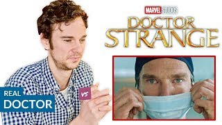 Download Real Doctor reacts to DOCTOR STRANGE | Hospital Movie Scenes Review Video