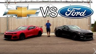 Download Shelby GT350R vs Camaro ZL1 1LE!!!   The Ultimate American Track Musclecar? Video