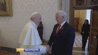 Download Exclusive: Vice President Pence tells EWTN News about meeting with Pope Francis Video