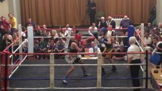 Download Kayden Diveney vs Campbell Hatton (son of Ricky Hatton) - at Rhyl Town Hall in Wales on 30/09/2016 Video