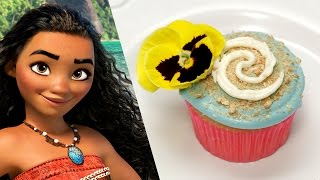 Download Disney's Moana Inspired Cupcake | Disney Family Video