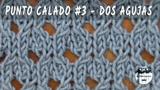 Download Punto calado #3 - Dos agujas, tricot, calceta - Tutorial paso a paso Video