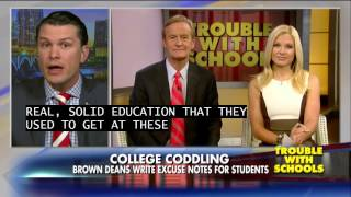 Download Pete Hegseth Reacts to Brown University Students Complaining About Balancing Homework and Activism Video