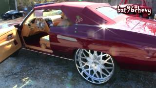 Download STITCHED BY SLICK: '75 Caprice Donk Vert on 28″ Forgiatos, NEW SCHOOL INTERIOR SWAP - HD Video