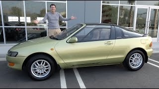 Download Here's Why the Toyota Sera Was the Weirdest 1990s Toyota Video