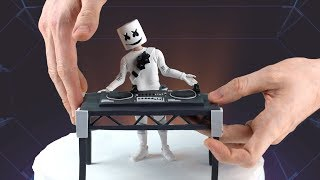 Download Marshmello Concert (Fortnite Battle Royale) – Polymer Clay Tutorial Video