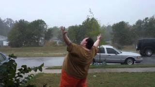 Download Fat Guy Screams At Nature Video