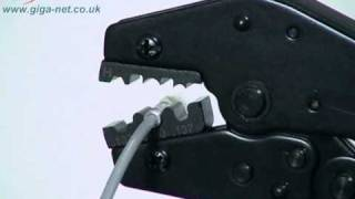 Download Fiber Optic Termination- How to terminate fiber optic cable using Giganet Fibre Optic connectors Video
