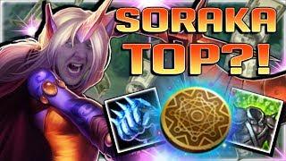 Download KLEPTOMANCY SORAKA IS ACTUALLY GENIUS?! NEW OP KLEPTOMANCY SORAKA TOP BUILD - League of Legends Video